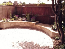 Low Maintenance Courtyard After 2